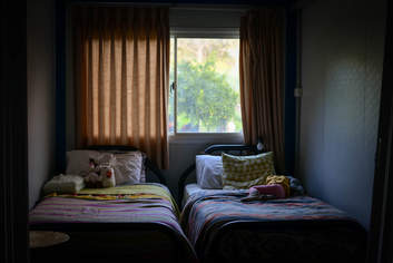 Living the dream: simple furnishings in the kids' bedroom.