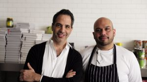 Yotam Ottolenghi (left) and Ramael Scully of NOPI.