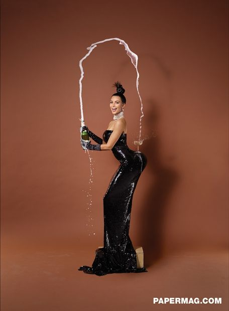 Reality TV star: Kim Kardashian has yet to respond to Bloomer's post but we imagine it would look something like this.