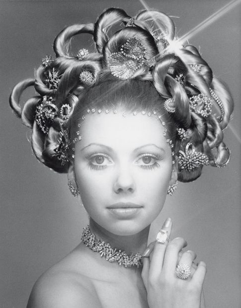 In 1970, Laurence Graff created the original Hair and Jewel image, which showcased half-a-million dollars of jewellery ...
