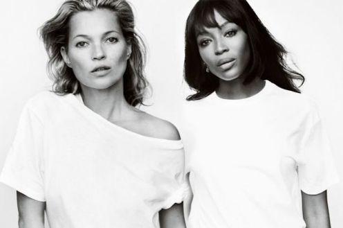 Fashion Targets Breast Cancer has become a powerful force, raising $55 million since it first began. Here, Moss and ...